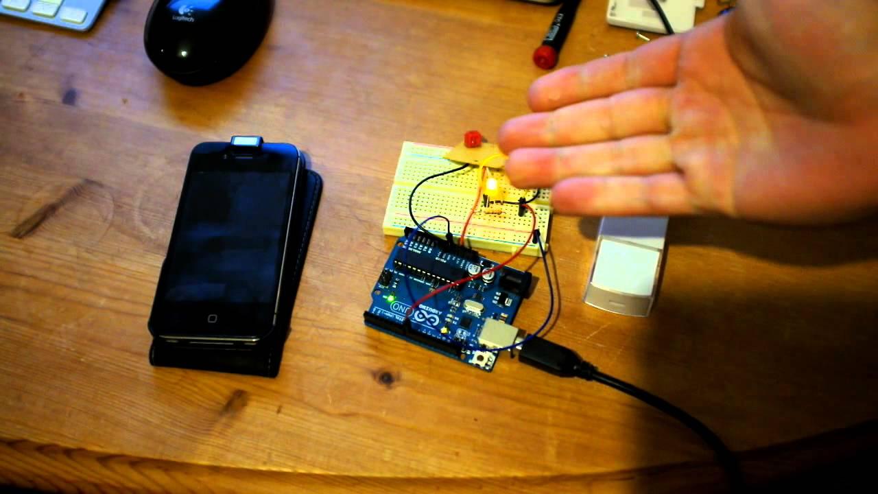 Arduino: Push notification enabled doorbell