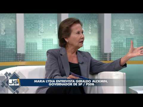 Maria Lydia entrevista Geraldo Alckmin, governador de SP/PSDB