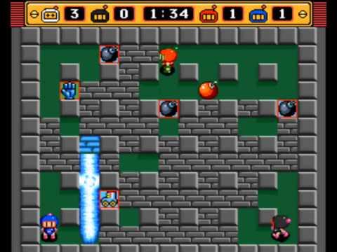 เกมวางระเบิด-บอมเบอร์แมน 2 เสตจ 1