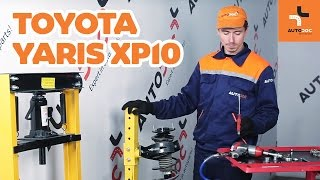 How to change Brake Drum on TOYOTA YARIS (SCP1_, NLP1_, NCP1_) - online free video