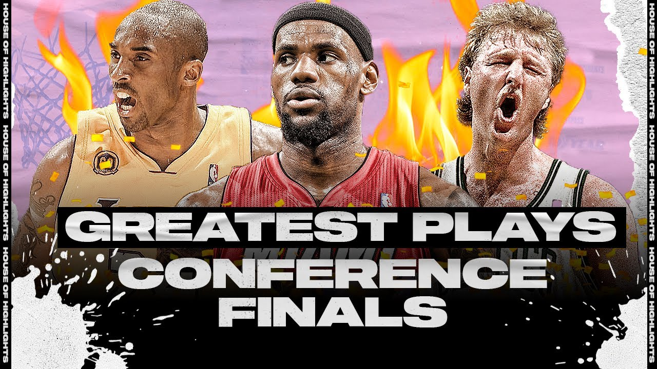 The Greatest NBA Moments In Conference Finals History!
