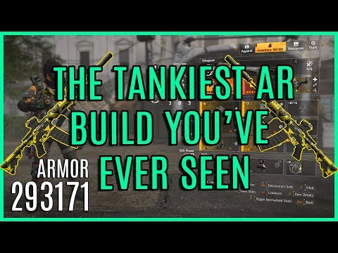 Unstoppable Super Tank Assault Rifle Build. 290k+ Armor | The Division 2