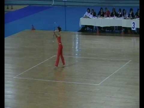 World Championships 2009 - solo 1 baton Michaela Valkova