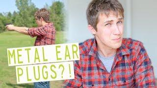 METAL EAR PLUGS FOR SHOOTING?! | Flare Audio Isolate Ear Plugs