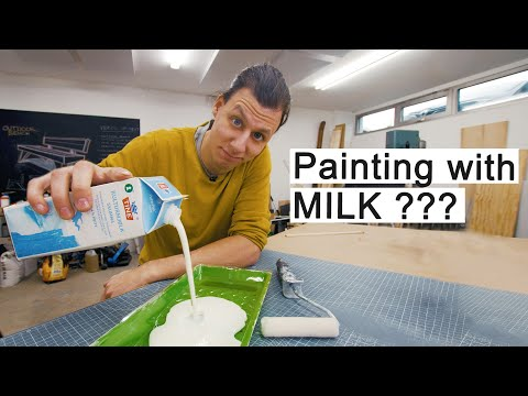Painting My Windows With MILK?? - DIY Frosted Windows.