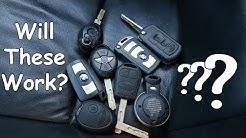 Programming [RANDOM] Keys to a BMW Z4