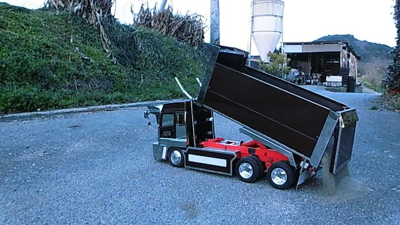 tamiya 1 14 rc truck youtube. Black Bedroom Furniture Sets. Home Design Ideas