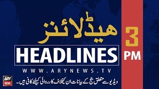 ARY News Headlines |SC announces verdict on judge video scandal case| 3PM | 23 August 2019