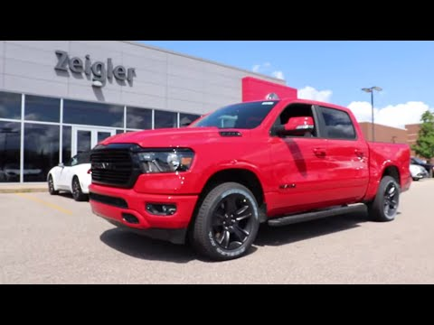 2020 Ram 1500 Bighorn Midnight Edition Youtube
