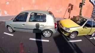 Renault Clio (II) с пробегом 350 000 километров - движение с комментариями (60P)