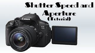 aperture and shutterspeed