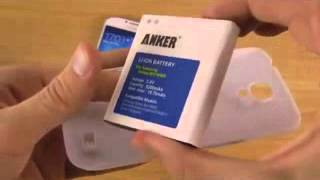Technology review Samsung Galaxy S4   5200mAh Extended Battery Review New video