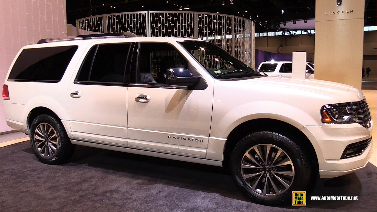 2015 lincoln navigator l exterior and interior walkaround 2015 chicago auto show youtube