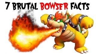 7 Brutal Bowser facts - King Koopa Chaos!