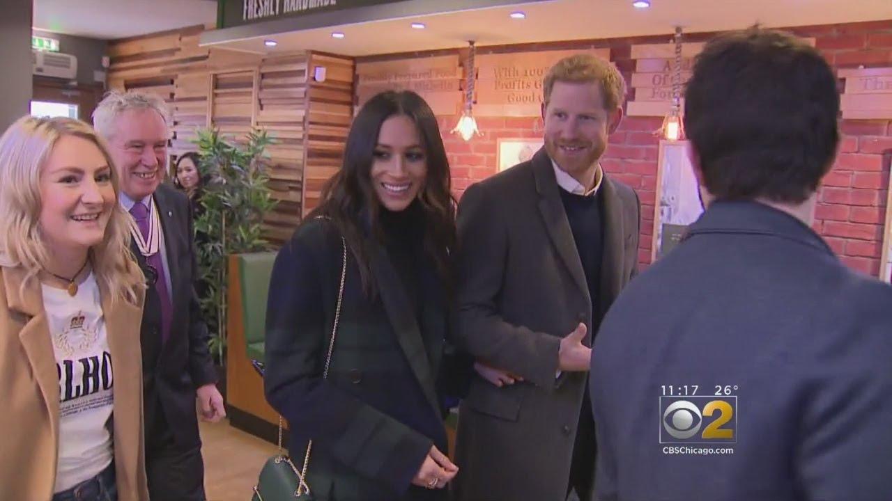 Prince Harry And Megan Markle Visit Scotland - YouTube