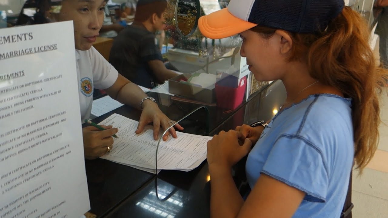 How To Get A Marriage Certificate From The Philippines: Getting A Marriage License