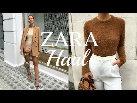 ZARA TRANSITIONAL AUTUMN/WINTER HAUL   UNBOXING