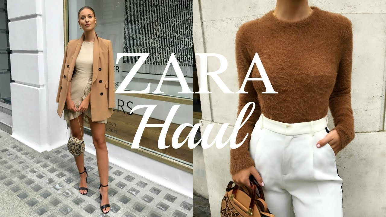 ZARA TRANSITIONAL AUTUMN/WINTER HAUL | UNBOXING 4