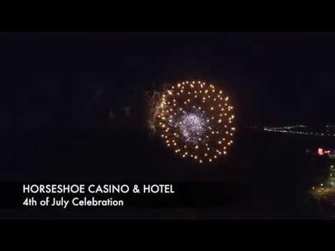 Firework show at Horseshoe Tunica! 4th of July celebration!