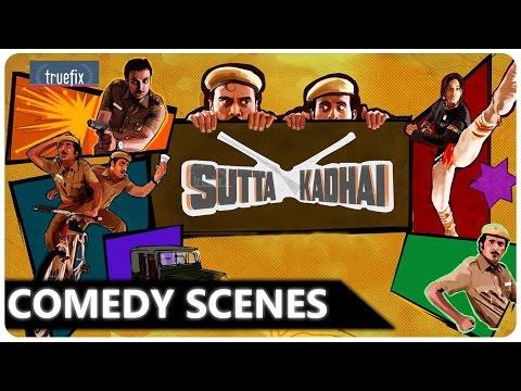 SUTTA KADHAI Comedy Scenes | Tamil Black Comedy Scenes | Balaji,Nasser, MS Baskar |Truefixstudios