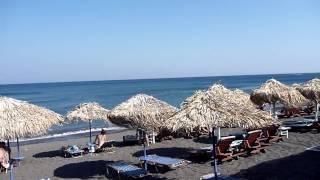 Greece - Santorini - Kamari Beach - July 2010