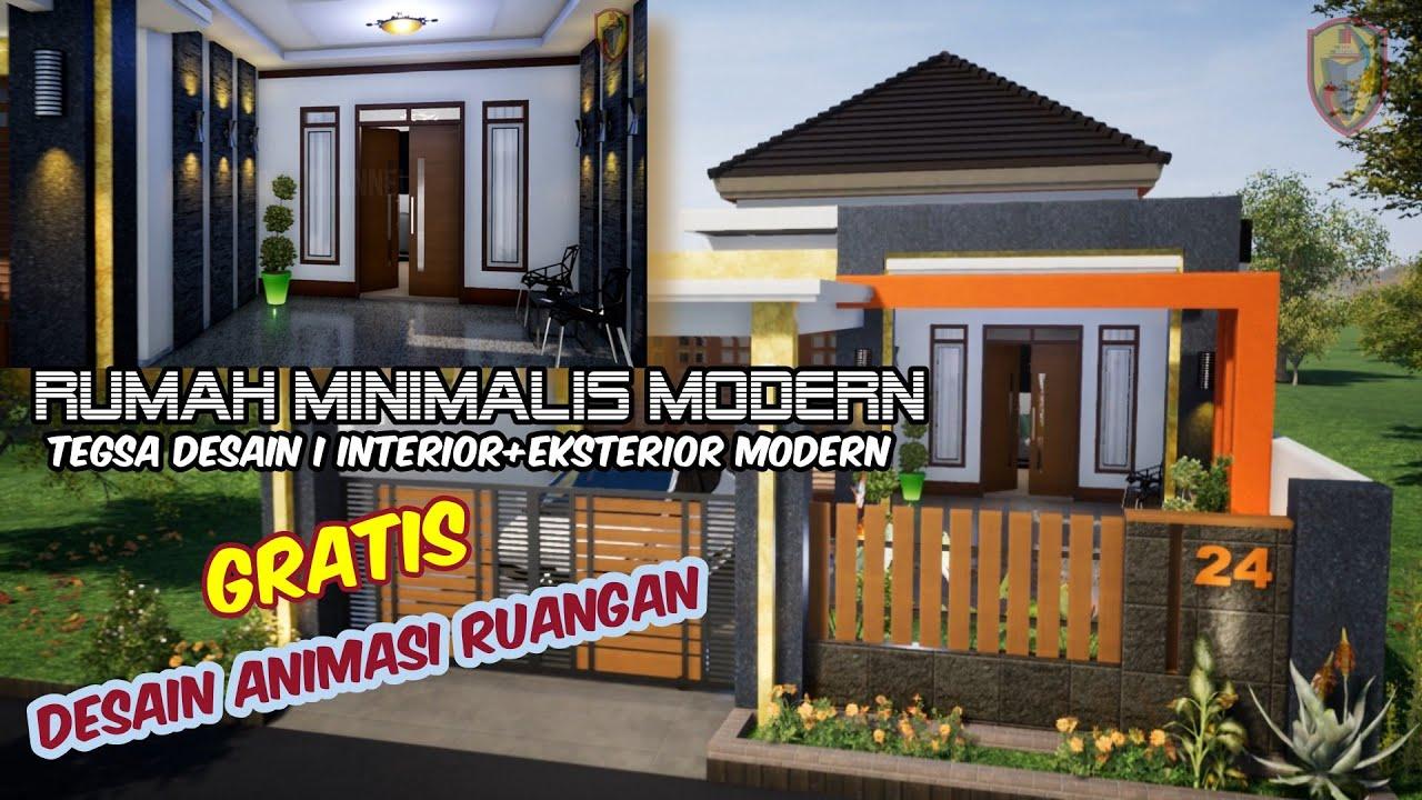 Download Desain RUMAH MINIMALIS 2020 I 7x24 METER