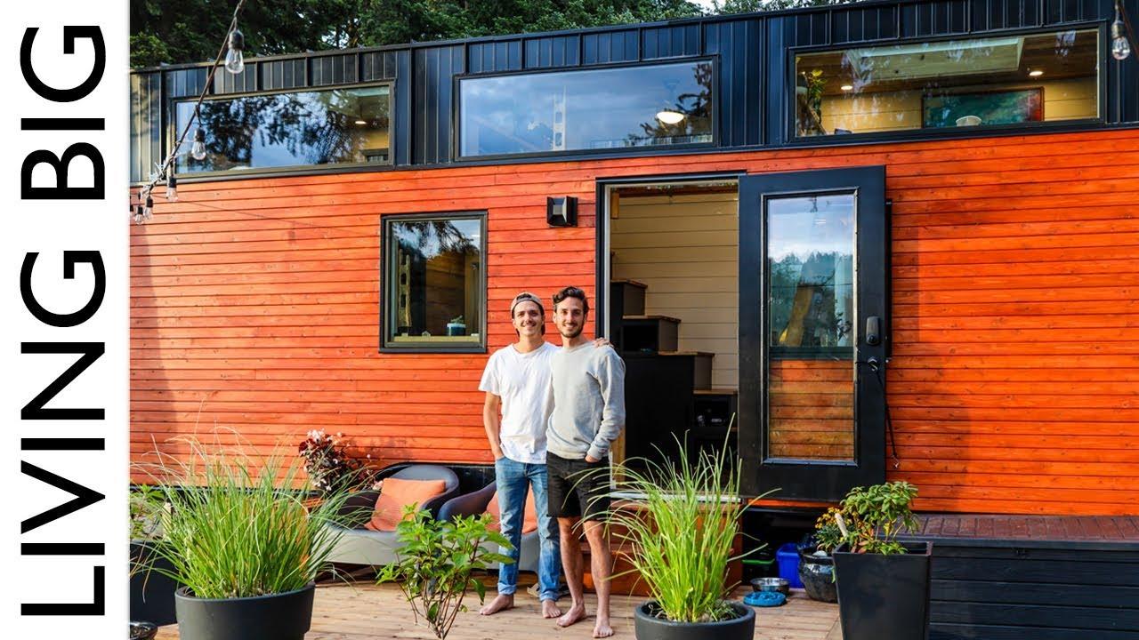Stunning Modern Tiny House Sanctuary Youtube