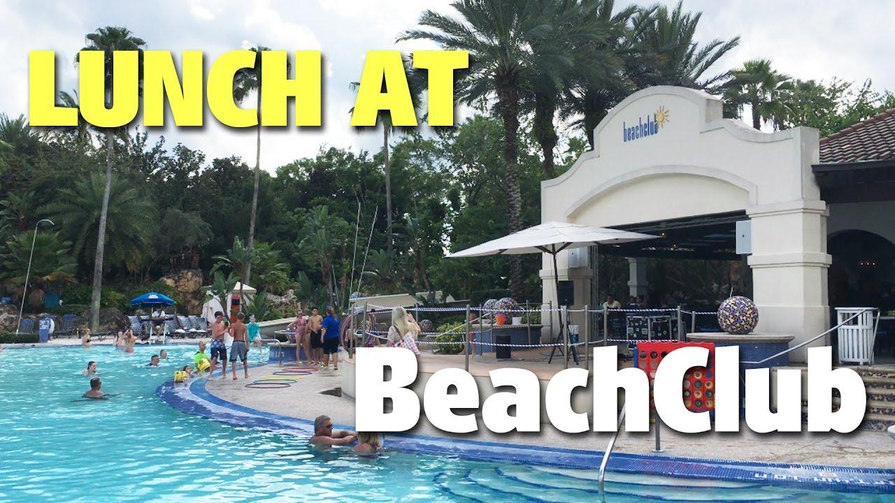 Lunch At Beachclub Hard Rock Hotel