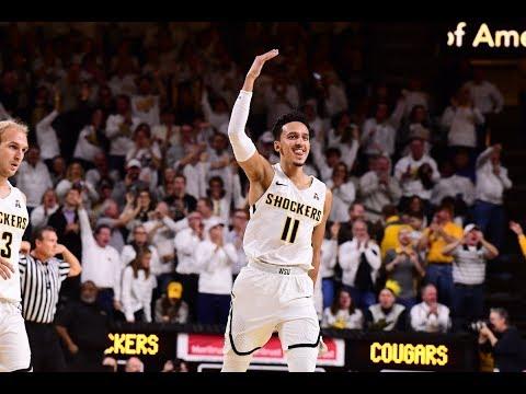 Men's Basketball Highlights - #19 Wichita State 76, #5 Cincinnati 72