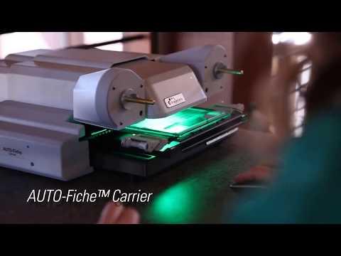 ScanPro 2200 - AUTO Fiche™ Carrier - Automatic Microfiche Scanning