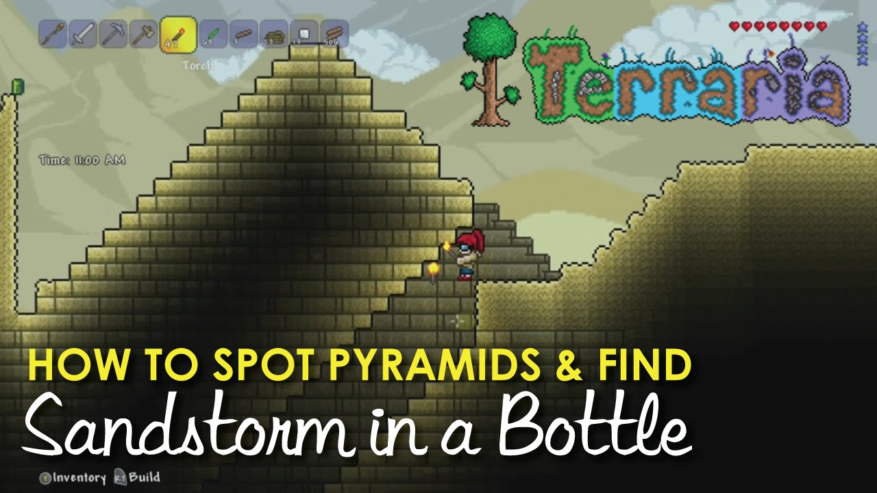 Terraria How To Find Sandstorm In A Bottle Amp Spot