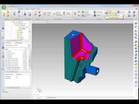WorkXPlore 3D - 面情報と要素情報