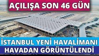 Gambar cover İstanbul Yeni Havalimanı'ndaki Son Durum Havadan Görüntülendi