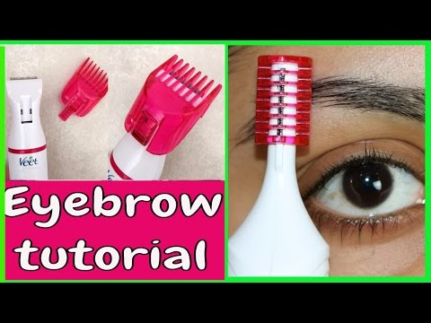 **New Veet Electric Trimmer | Eyebrow Shaping |Tanutalks|
