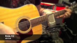 MicShootout Acoustic Guitar Tube - Ribbon.mov