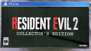 Unboxing! Resident Evil 2 Collector's Edition - Ps4 - Only At Gamestop