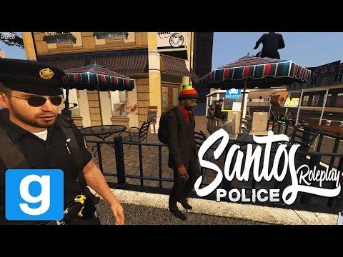 GMod Santos RP - Police - Gang Banger's