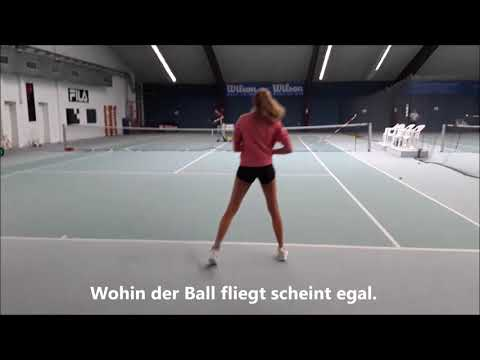 Tennis Drills - Training ohne Sinn