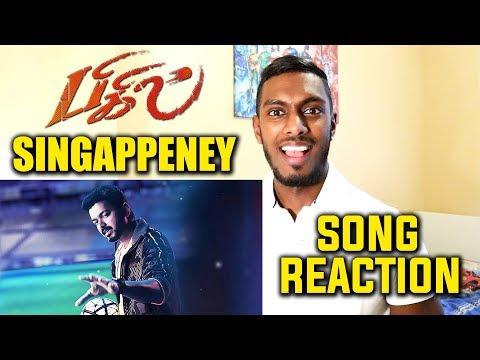 bigil---singappenney-song-reaction-&-review-|-thalapathy-vijay-|-a.r-rahman-|-pesh-entertainment