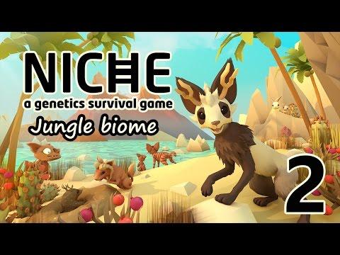 Niche - A Genetics Survival Game 2:  Rabbit Hunting – Niche Jungle Biome