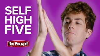 Times You Deserve A Self High Five // Presented By BuzzFeed & Hot Pockets
