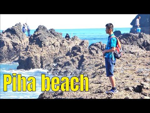 The Rocks Of Piha, North Piha Beach