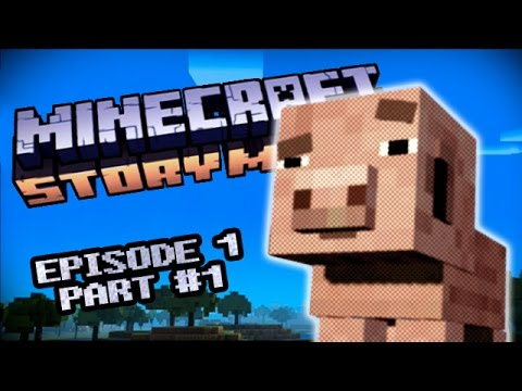Minecraft Story Mode - Episode 1: The Order Of The Stone - Part 1