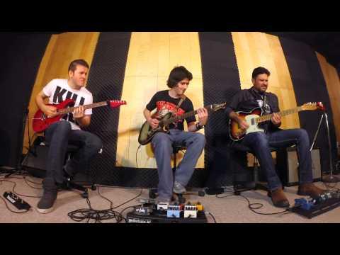 Cissy Strut - Guitar jam session by Paco Herrejon, Cesar Huesca, Juanjo Gomez