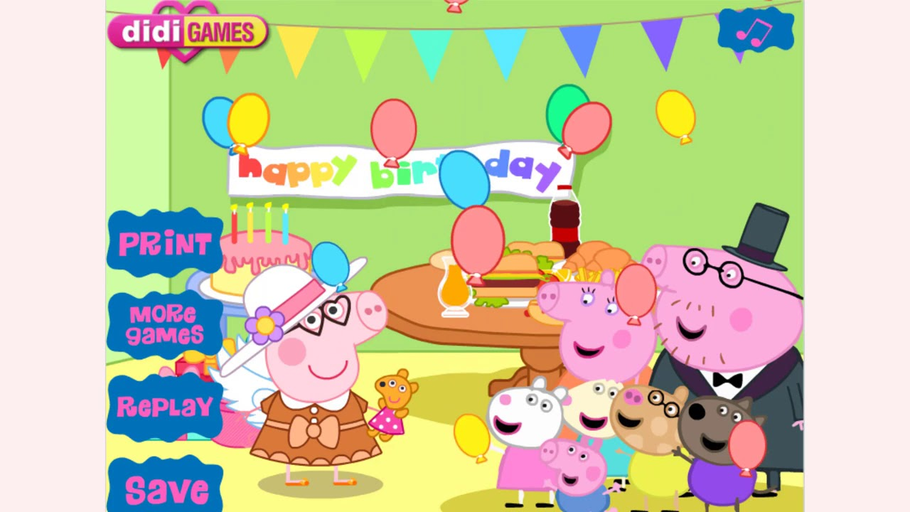 How To Play Peppa Pig Game Party Game Free Pc Mobile Online Games Gamejp Net
