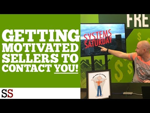 Getting Motivated Sellers To Contact YOU