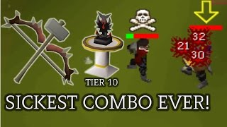 Dark Bow To Gmaul Pking - OSRS Best Combo Ever | Sam Is Beast