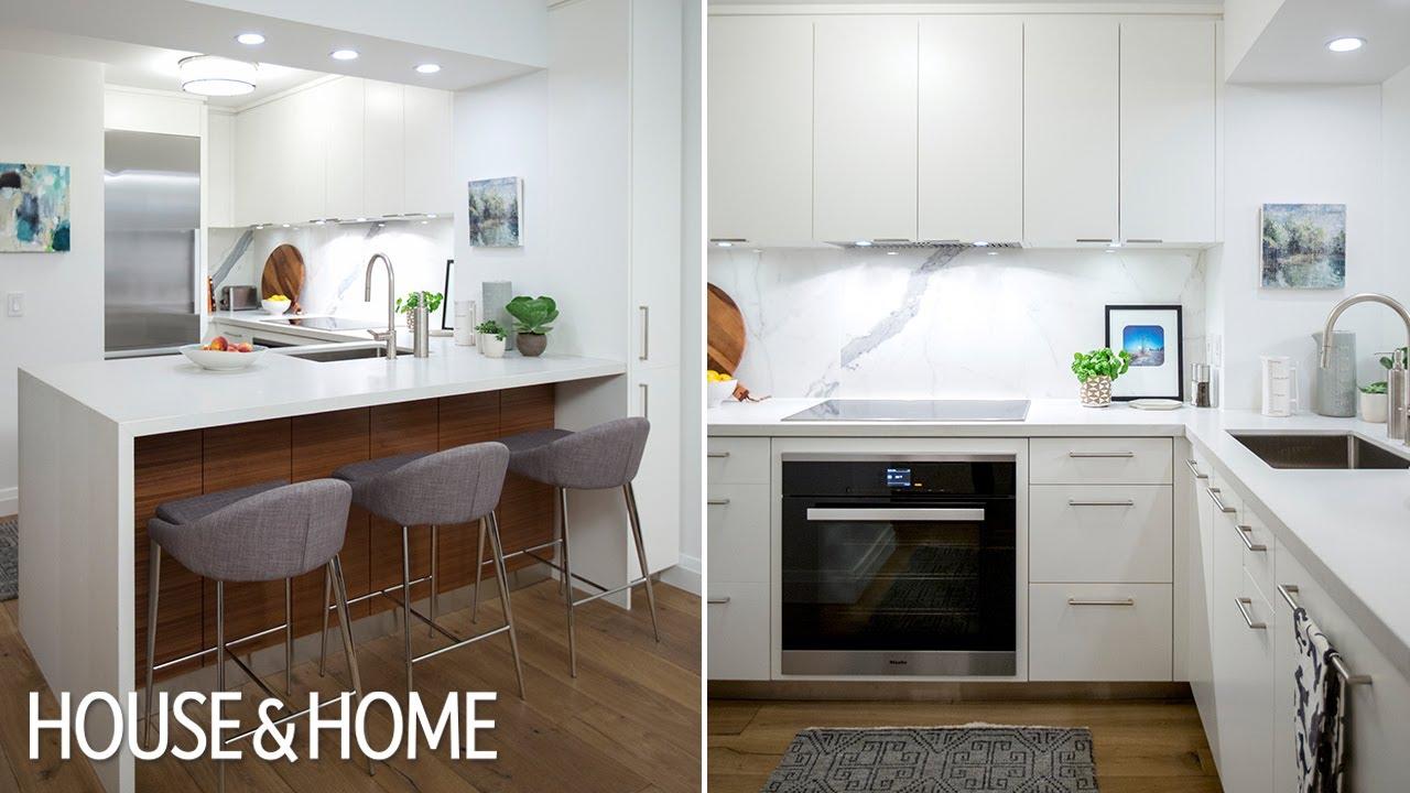 How To Redesign A Kitchen Shaker Style Cabinet Hardware Interior Design Small Condo Reno Youtube