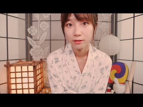 Traditional Korean Makeup on You💝/ ASMR Tingly Makeup Artist Roleplay