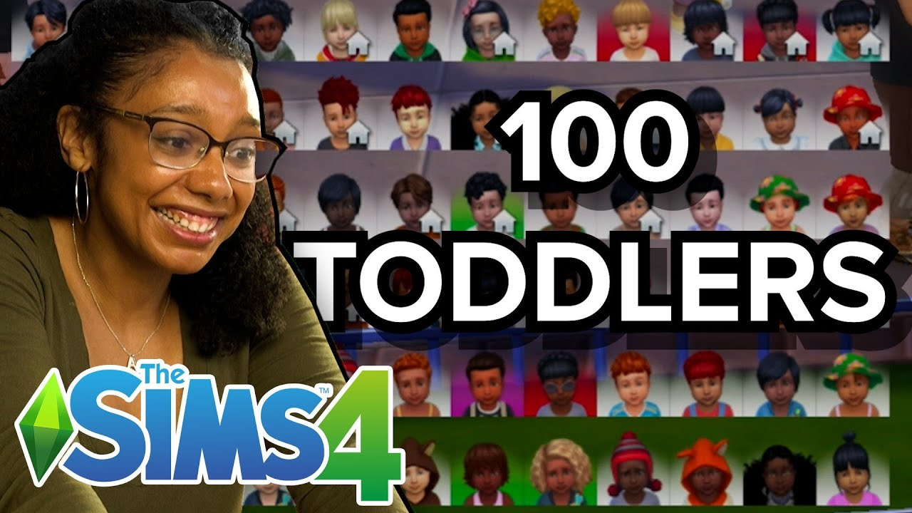 Download Only Child Tries Raising 100 Toddlers At Once In The Sims 4